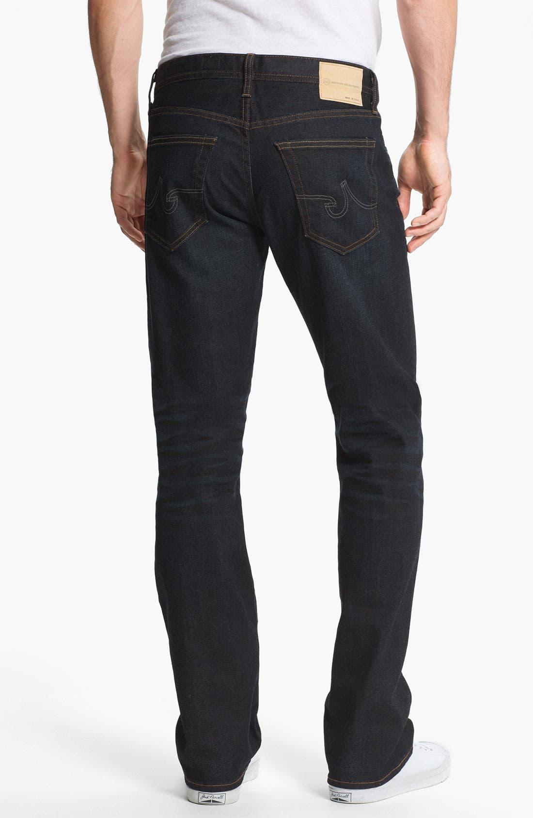 Alternate Image 2  - AG 'Protégé' Straight Leg Jeans (Two Year Matte)