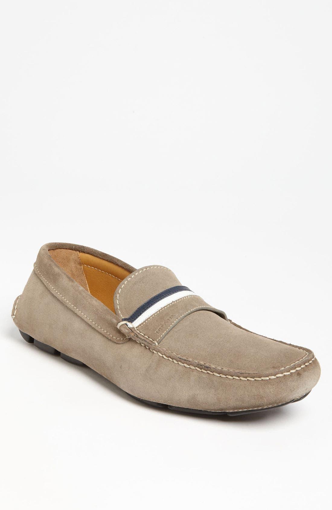 Main Image - Prada Suede Driving Shoe