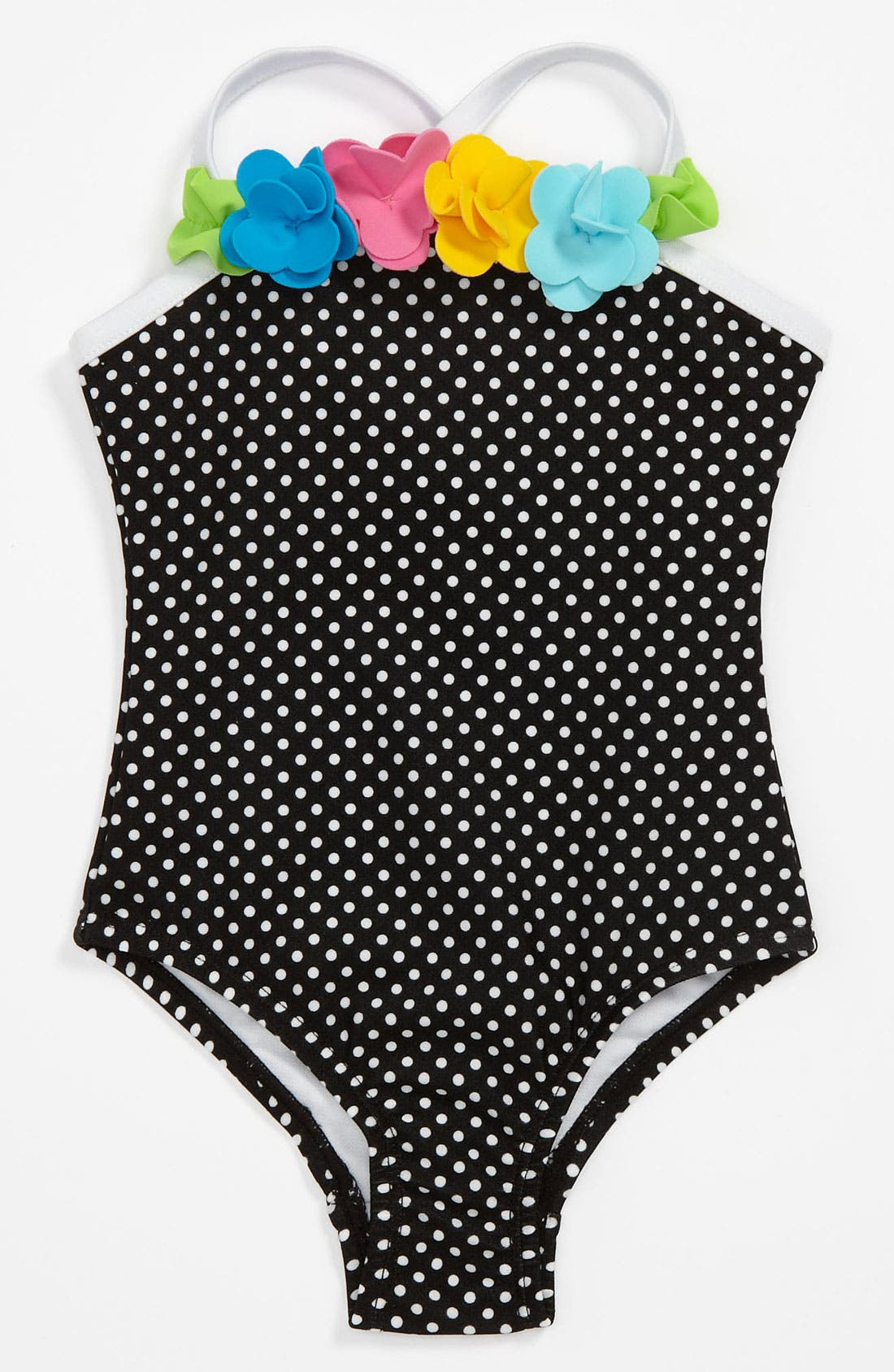 Alternate Image 1 Selected - Love U Lots One Piece Swimsuit (Baby)