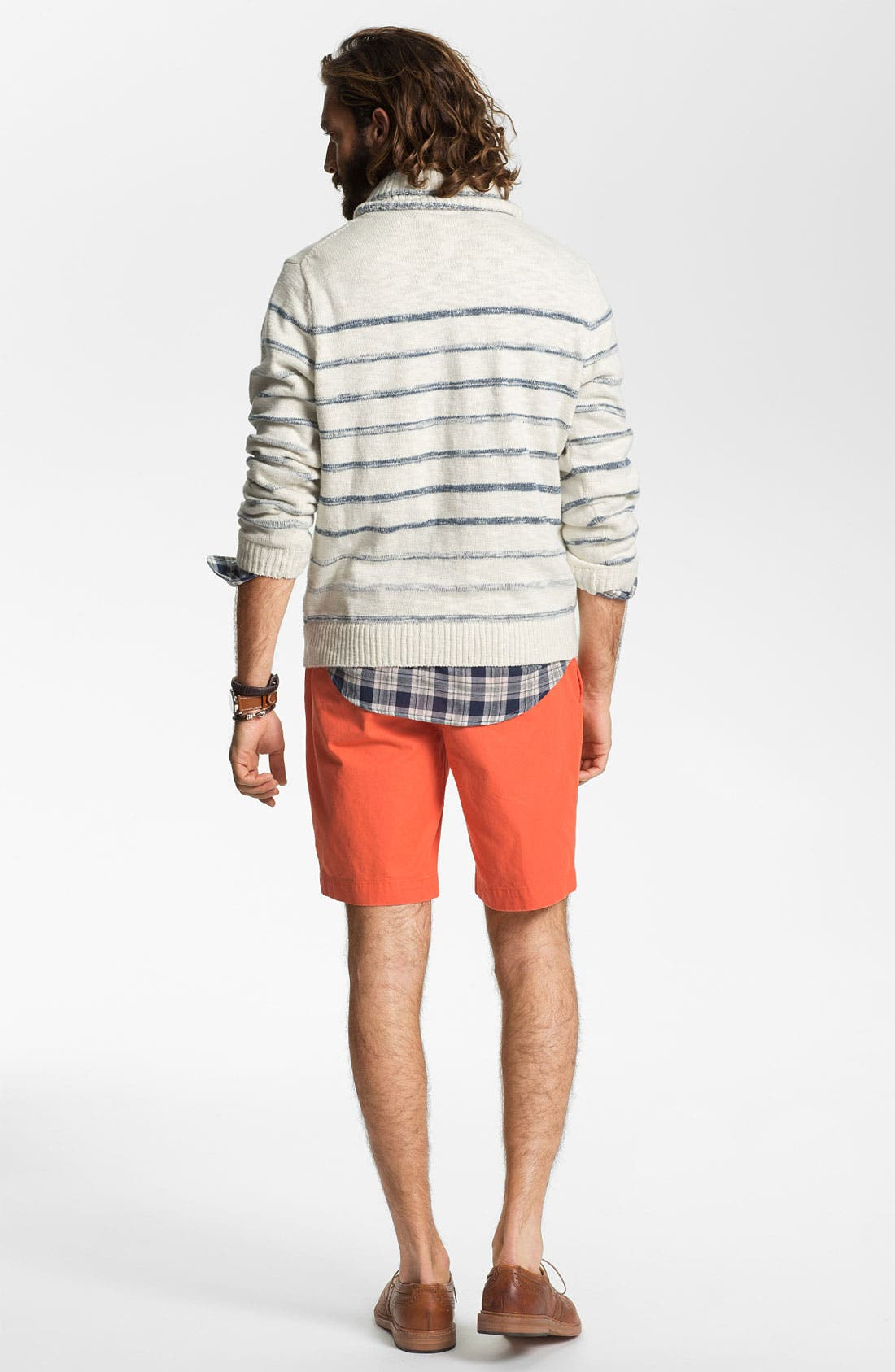 Alternate Image 5  - Hickey Freeman Shawl Collar Sweater