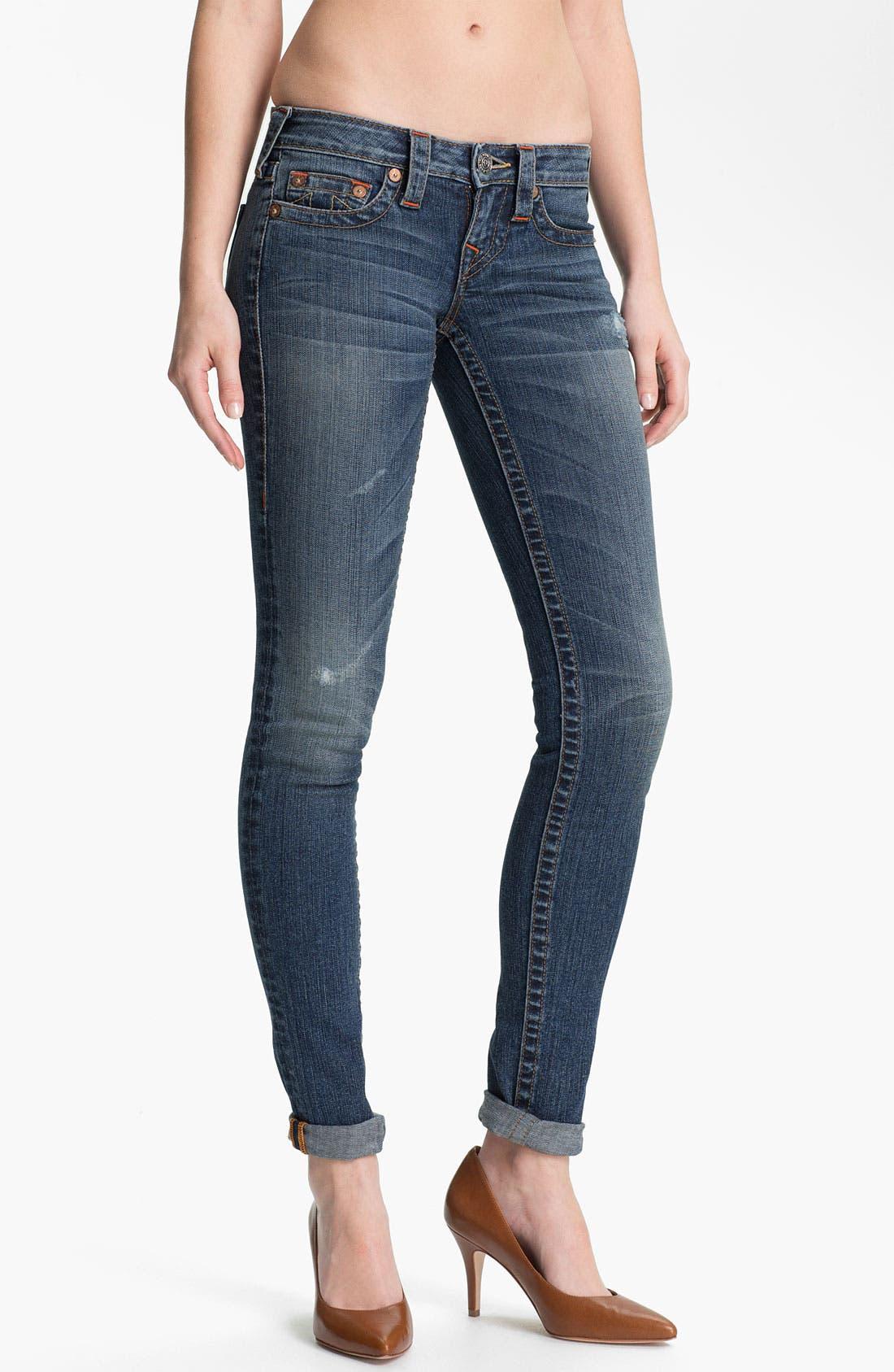Main Image - True Religion Brand Jeans 'Stella' Skinny Stretch Jeans (Hillsboro)