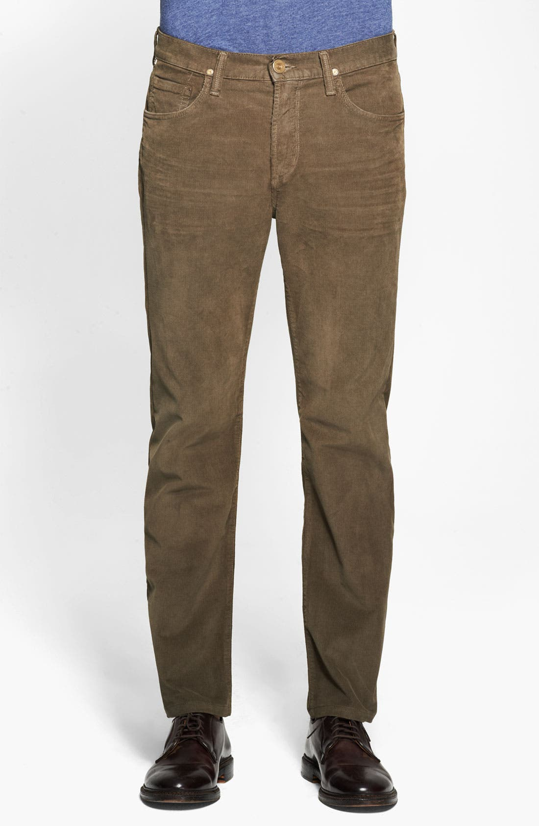 Alternate Image 1 Selected - Citizens of Humanity 'Sid' Straight Leg Corduroy Pants