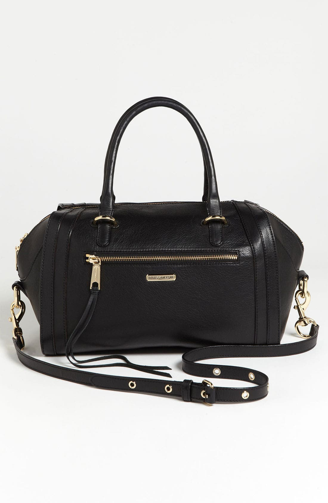 Alternate Image 4  - Rebecca Minkoff 'Darcy' Leather Satchel (Nordstrom Exclusive)