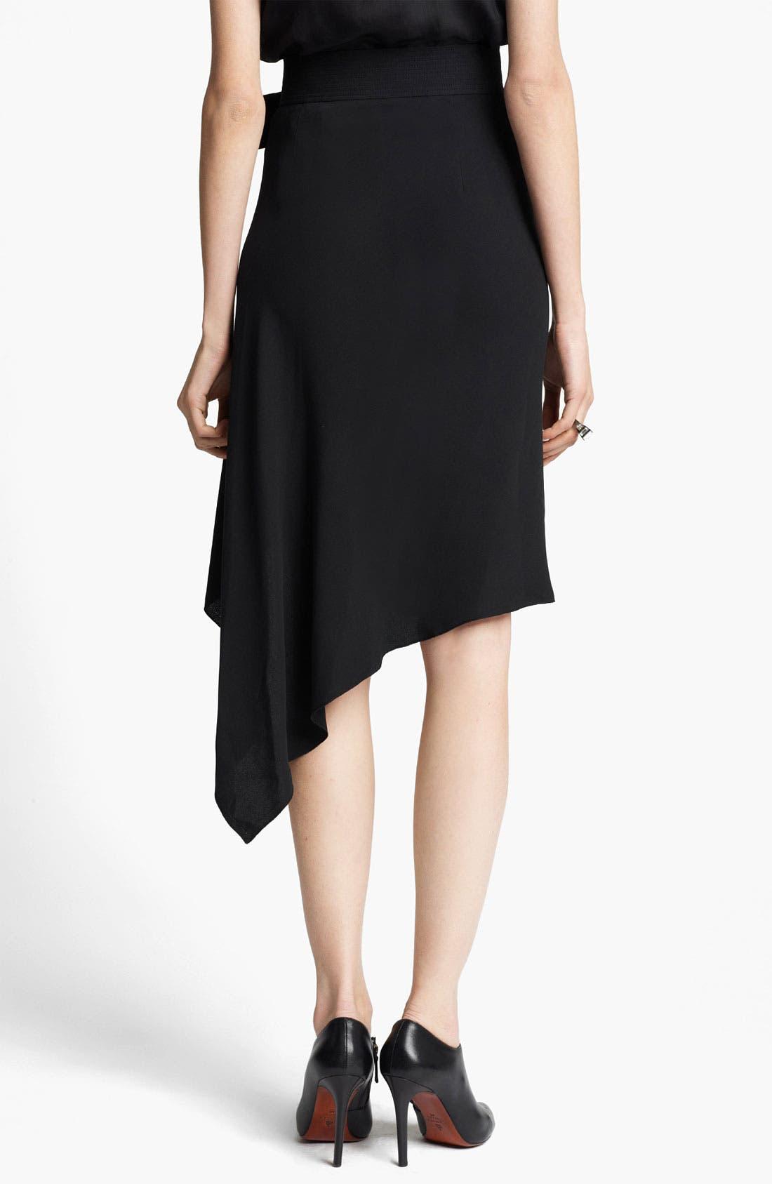 Alternate Image 2  - Lanvin Asymmetrical Wrap Skirt