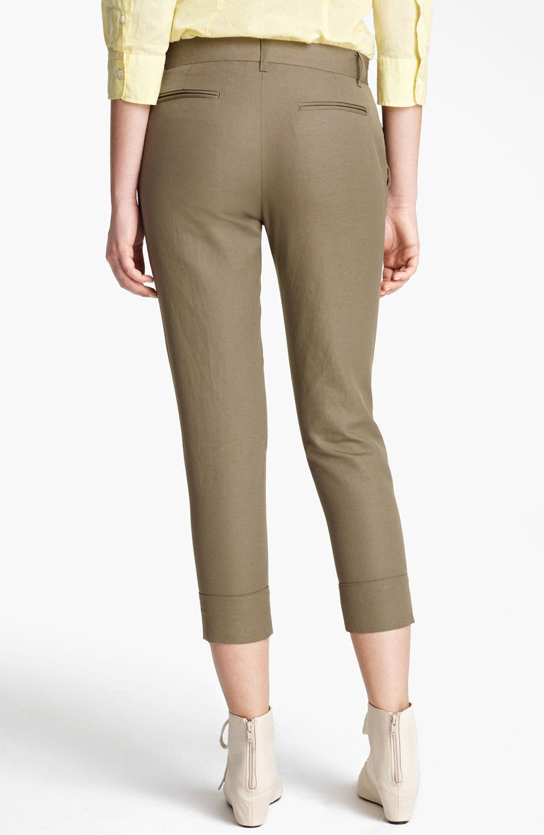 Alternate Image 3  - Band of Outsiders Skinny Crop Pants