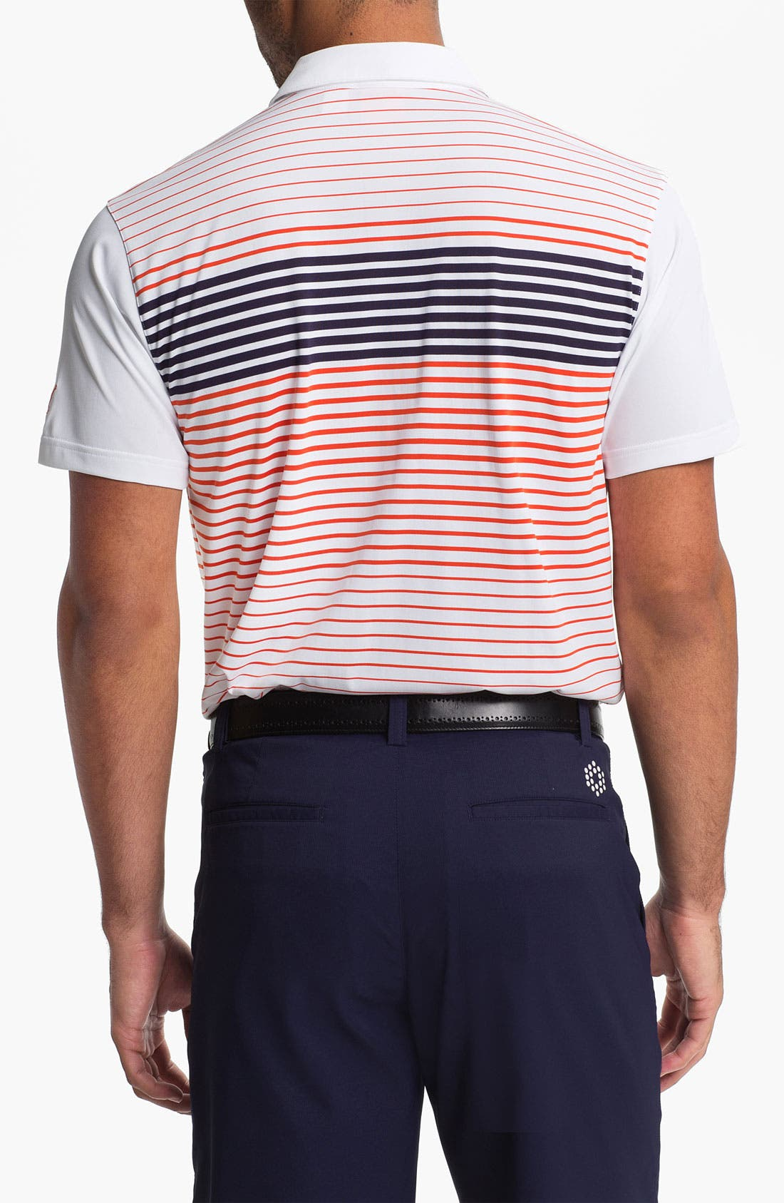 Alternate Image 2  - PUMA GOLF 'Engineered Stripe' dryCELL™ Tech Polo