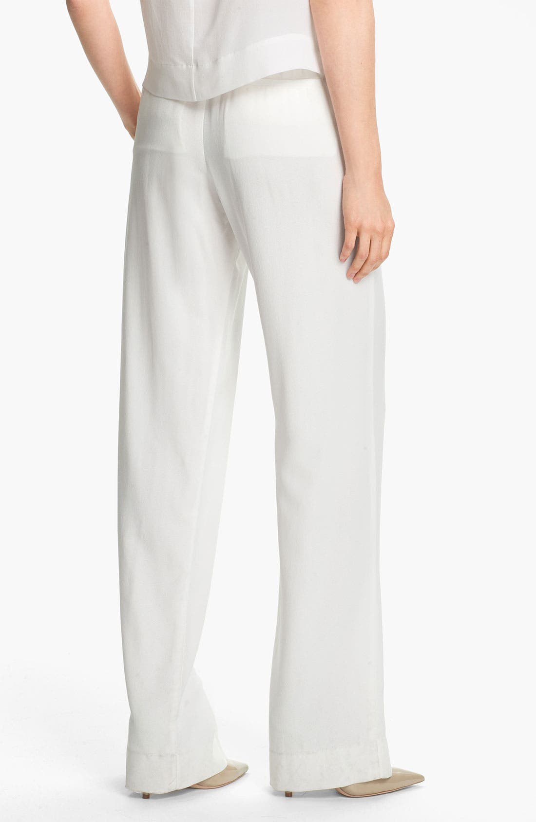 Alternate Image 2  - Theory 'Mitrana' Wide Leg Pants