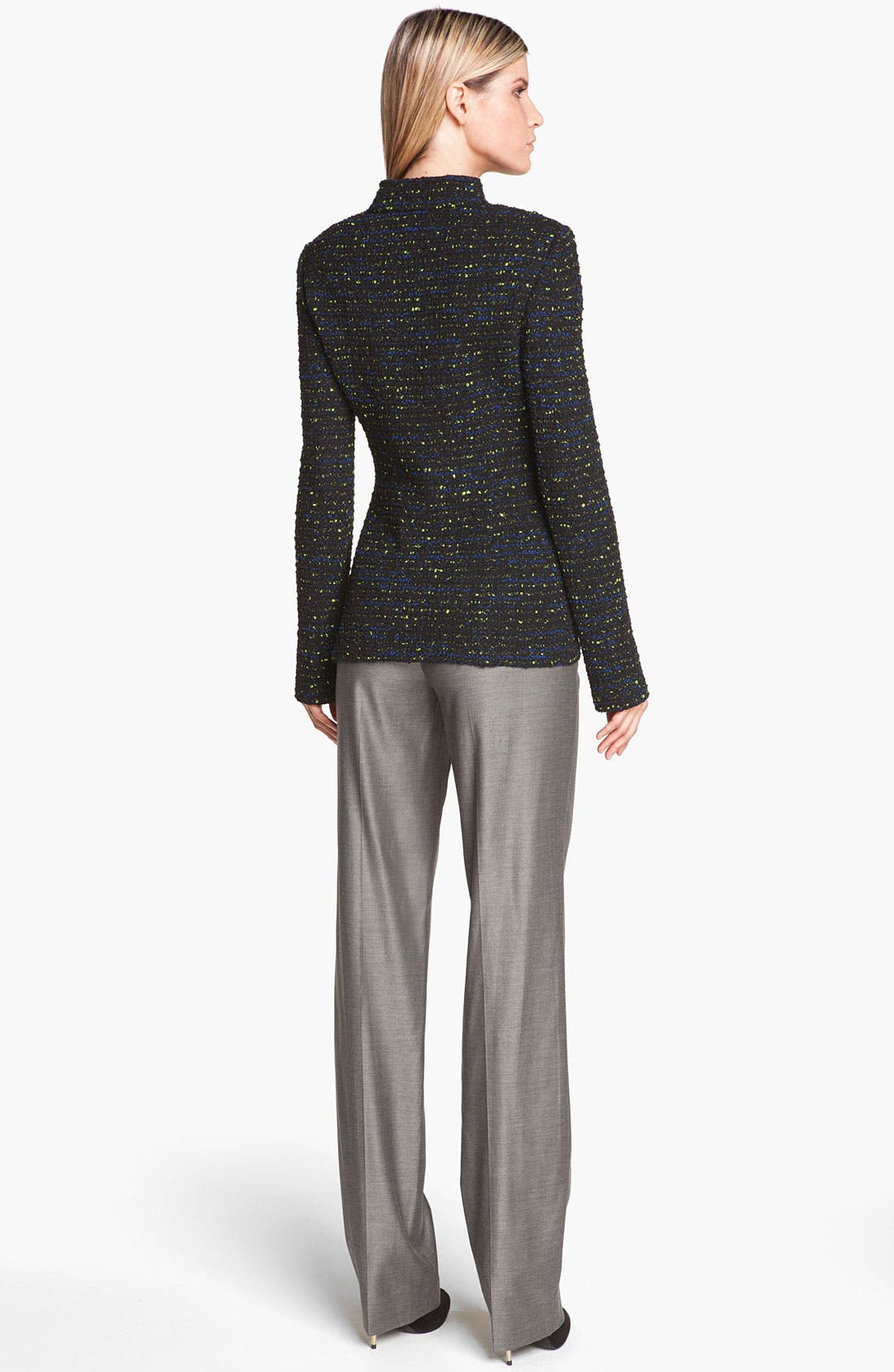 Alternate Image 3  - St. John Collection 'Diana' Shimmer Twill Pants