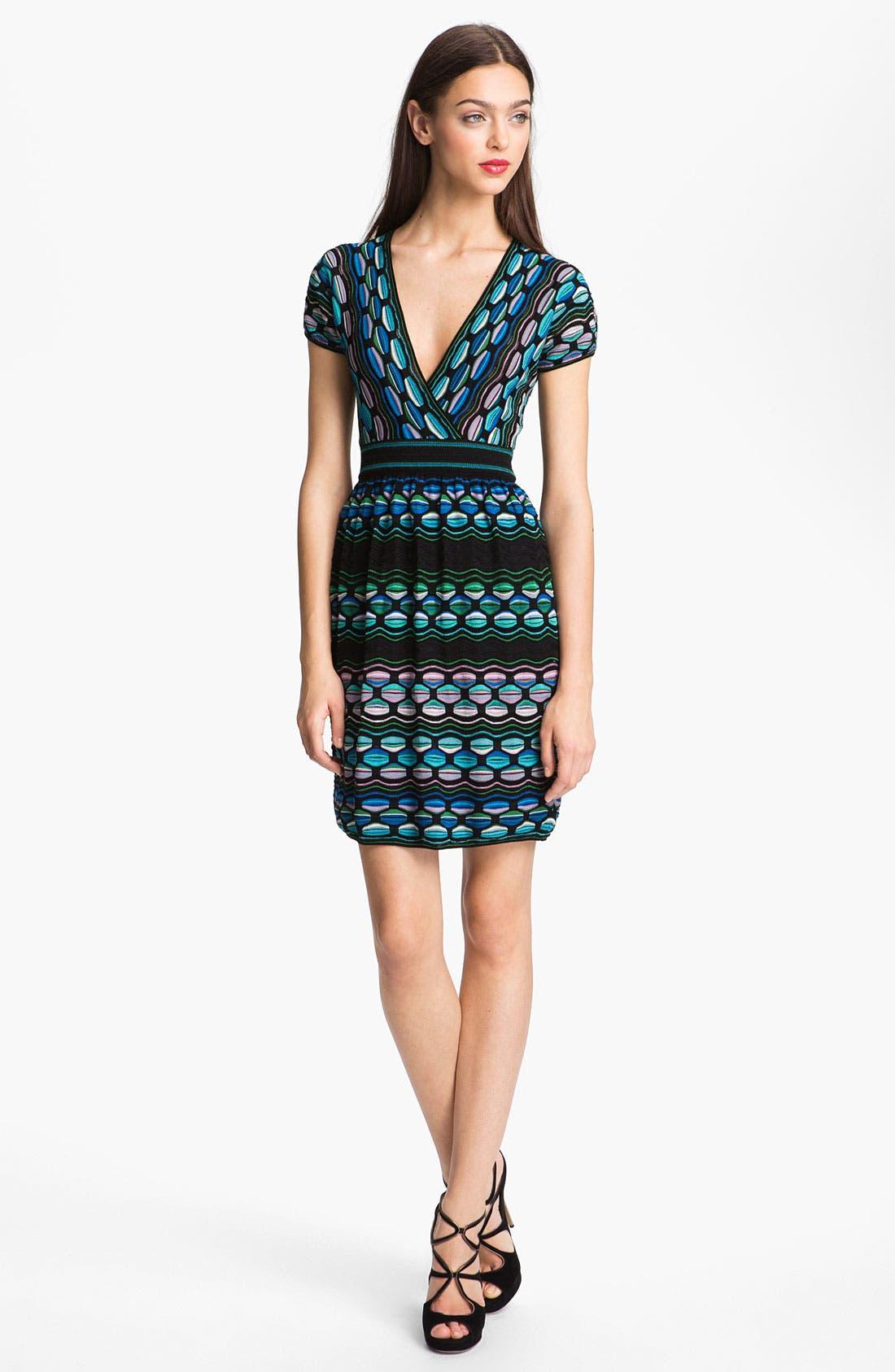 Main Image - M Missoni Pucker Wave Dress