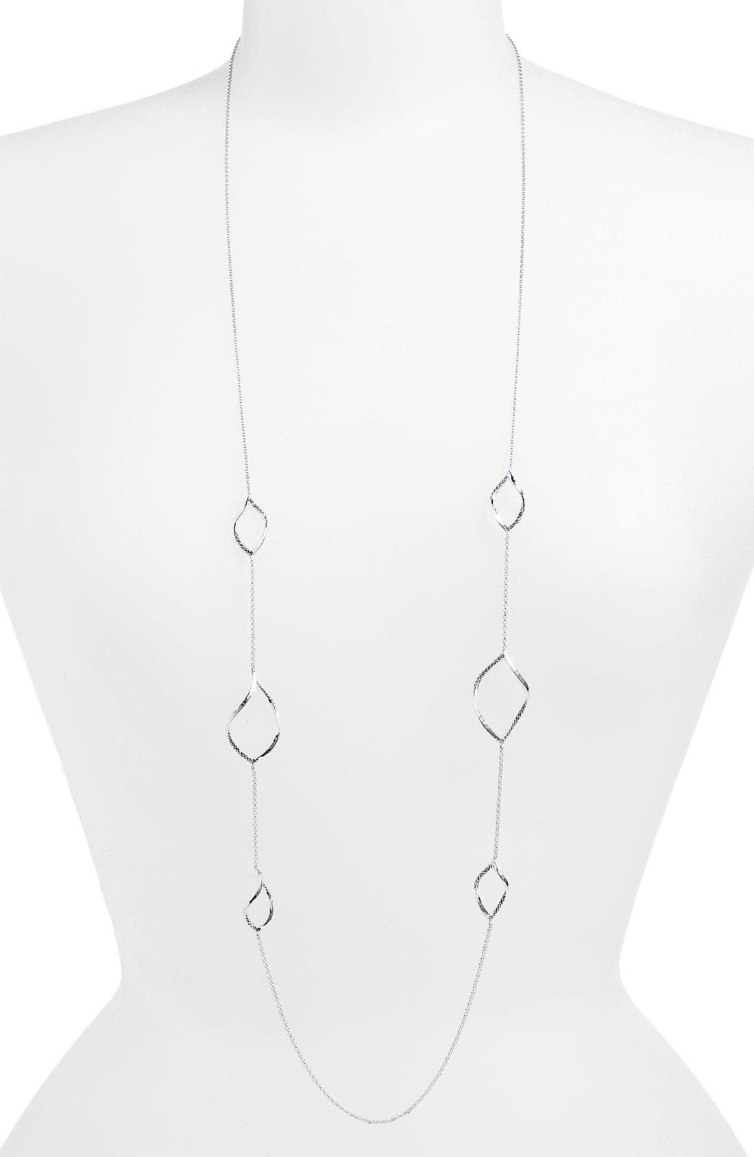 Alternate Image 1 Selected - Judith Jack 'Fluidity' Long Station Necklace