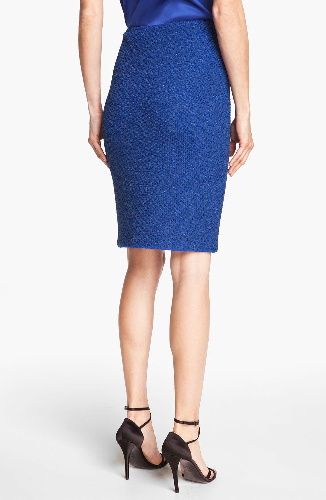 Alternate Image 4  - St. John Collection Ivy Tweed Pencil Skirt