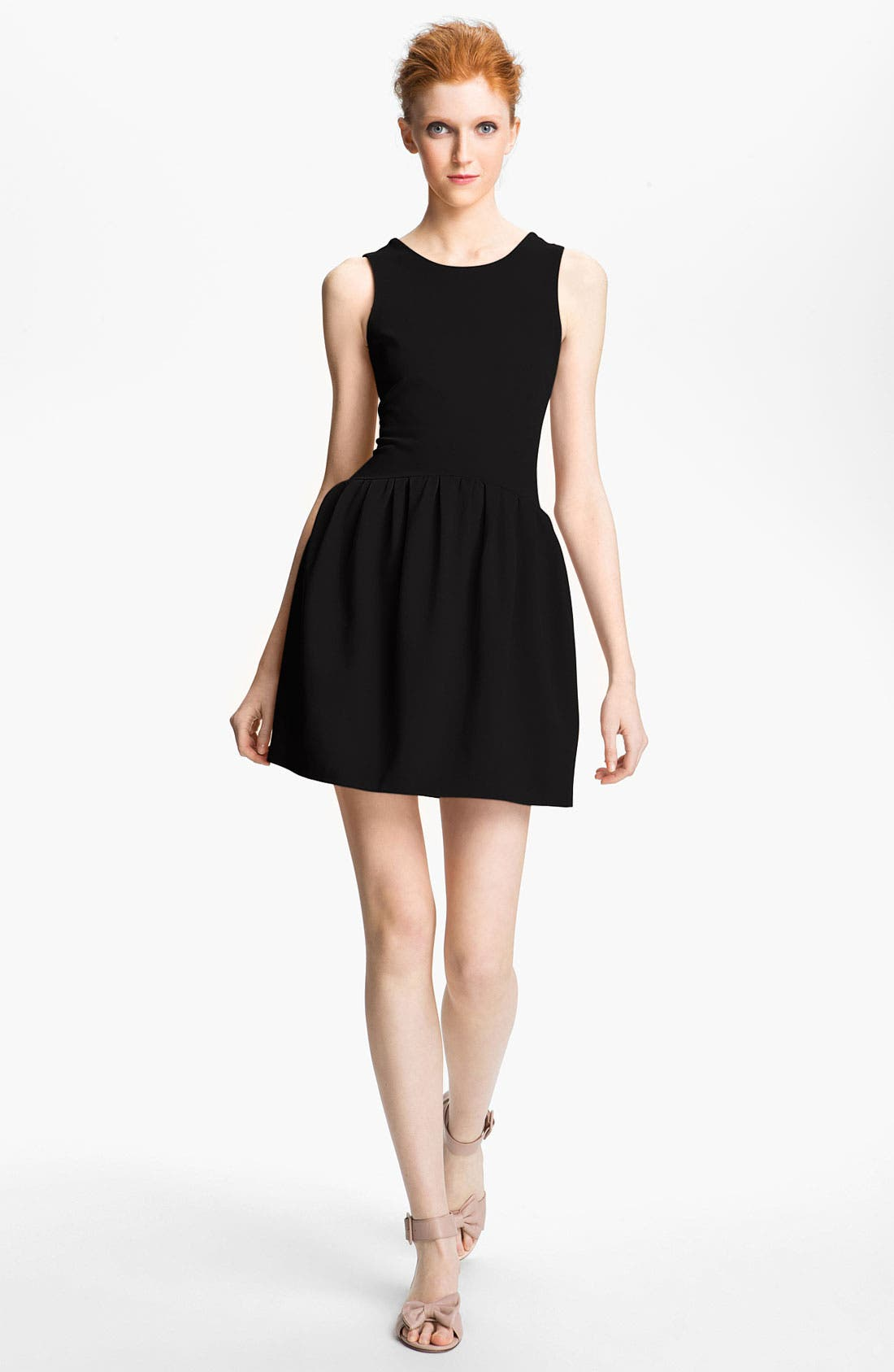 Alternate Image 1 Selected - RED Valentino Jersey Dress