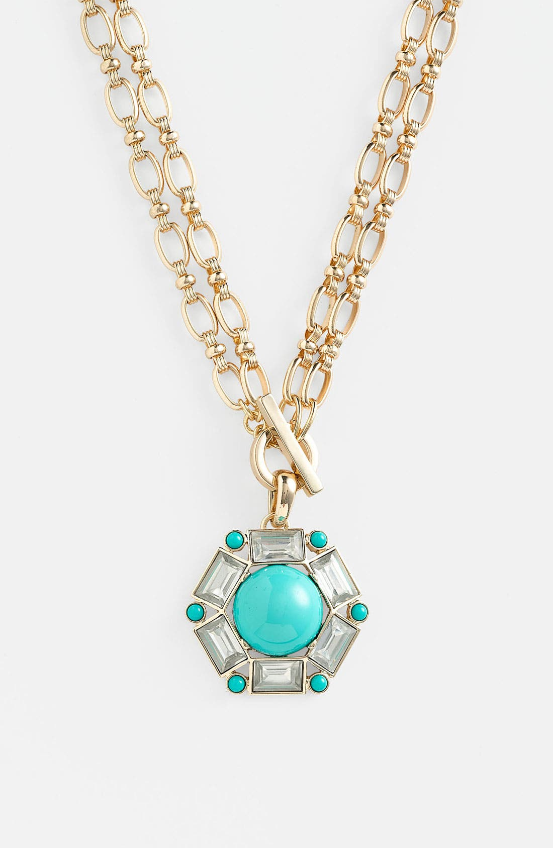 Alternate Image 1 Selected - Anne Klein 'Sorbet' Convertible Pendant Necklace