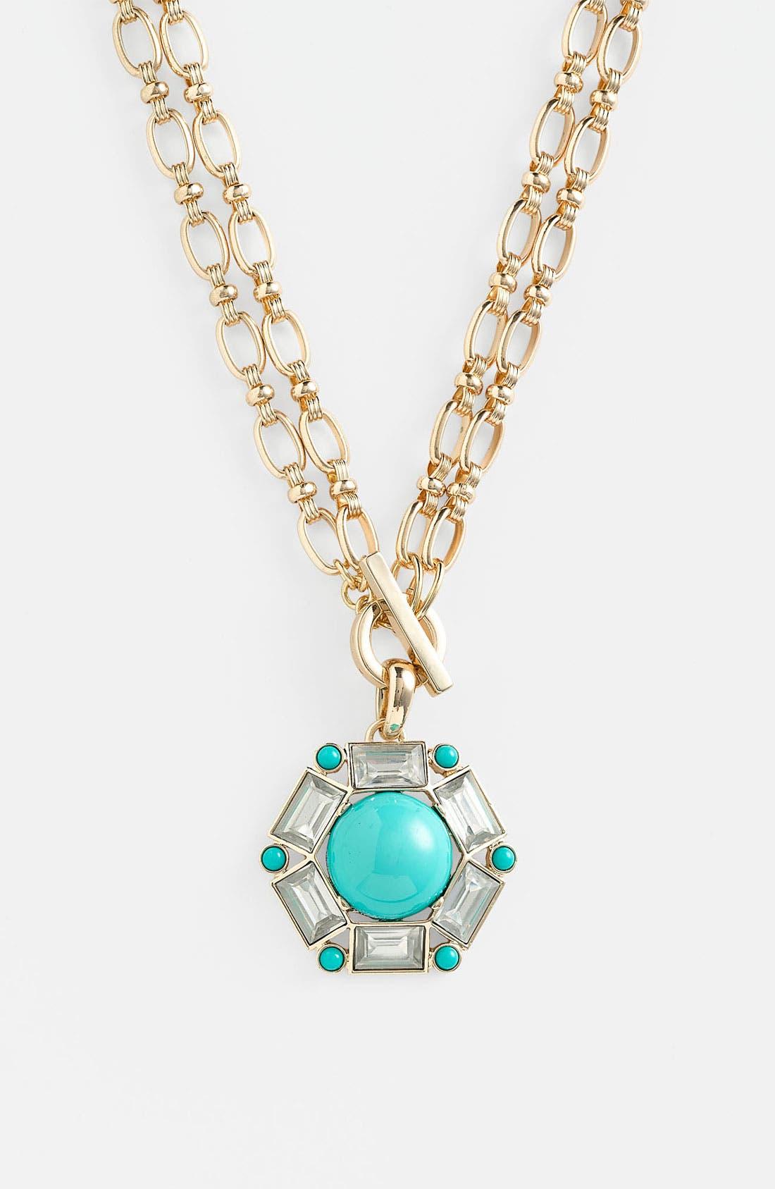 Main Image - Anne Klein 'Sorbet' Convertible Pendant Necklace