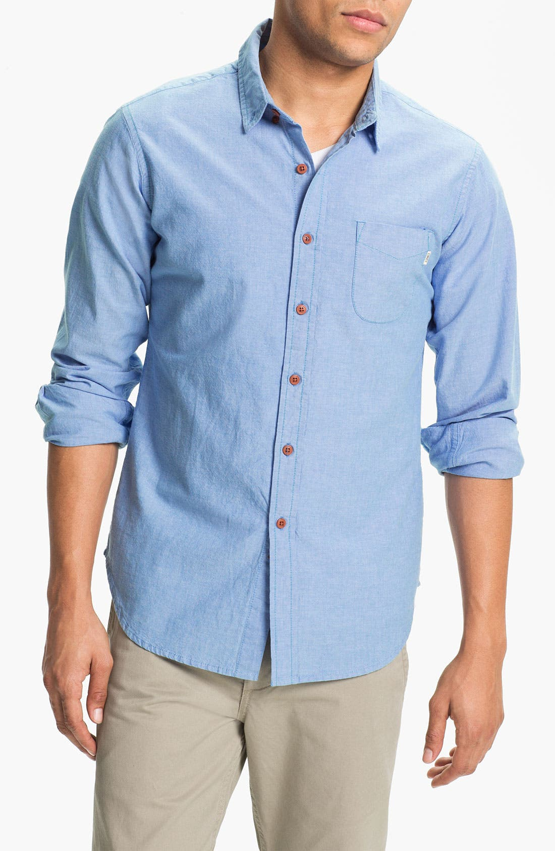 Alternate Image 1 Selected - Obey 'Elden' Oxford Shirt