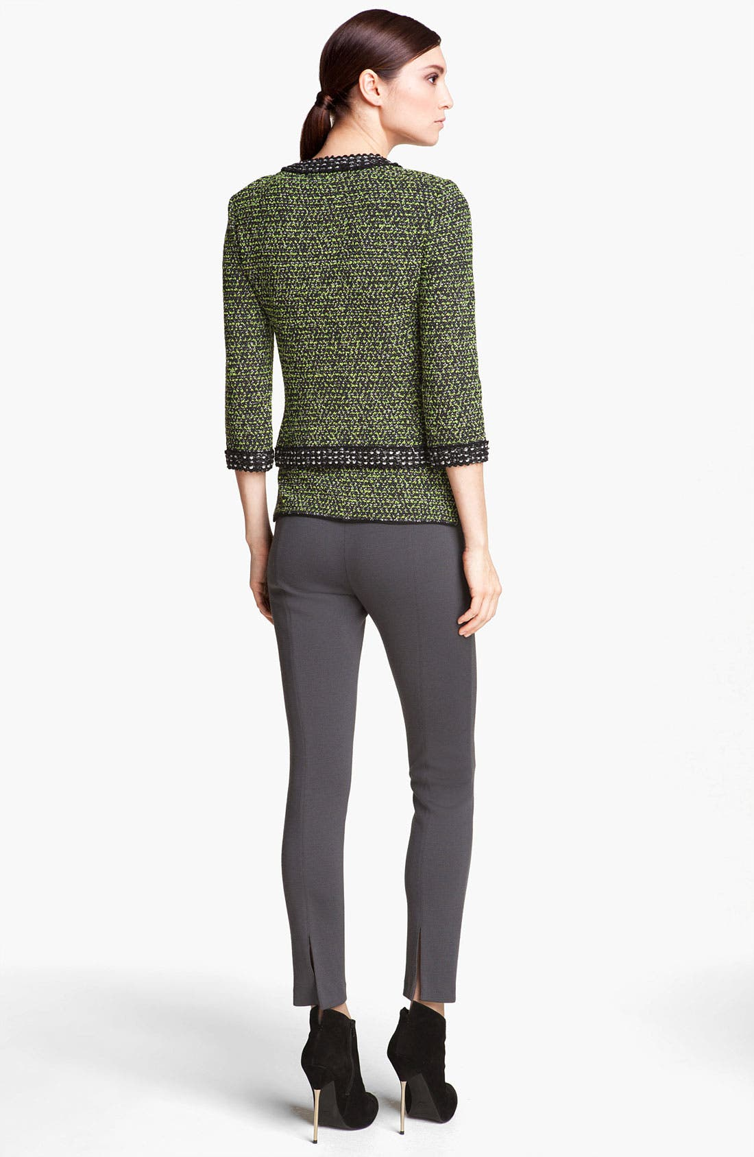 Alternate Image 3  - St. John Collection 'Alexa' Stretch Milano Knit Ankle Pants