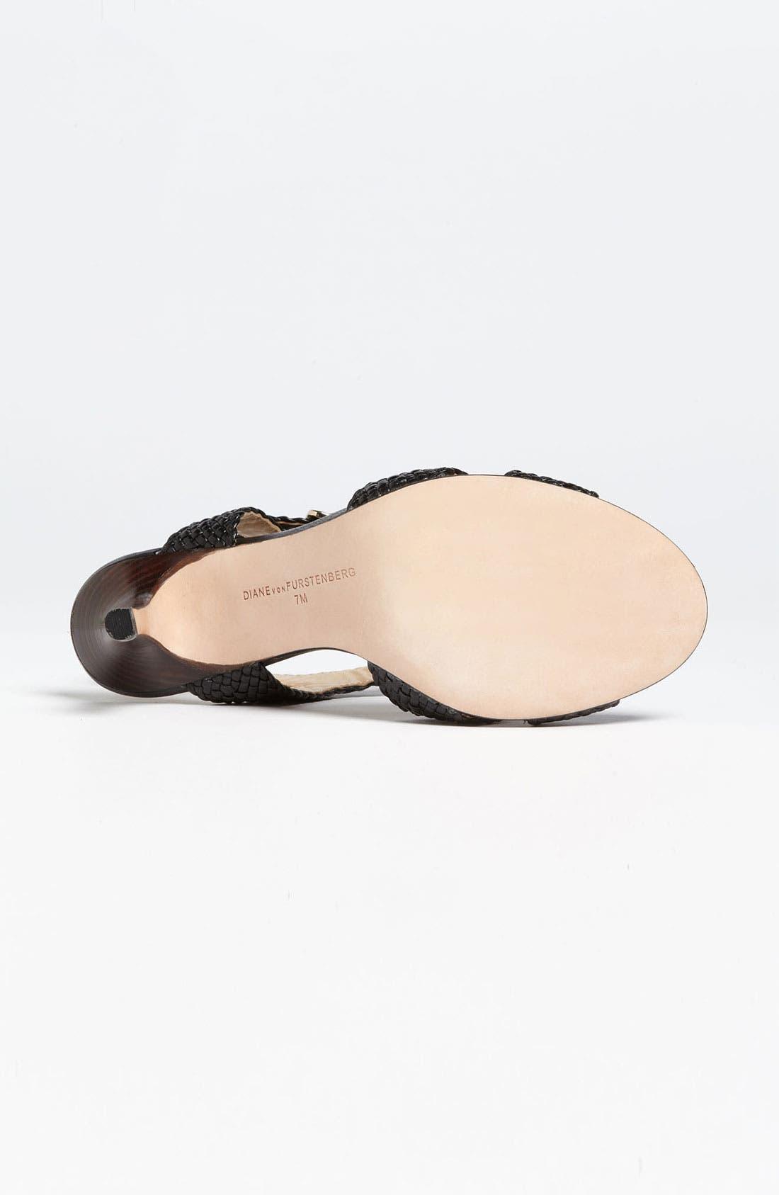 Alternate Image 4  - Diane von Furstenberg 'Villana' Sandal (Online Only)