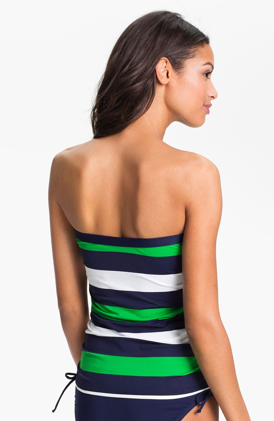 Alternate Image 2  - Tommy Bahama 'Rugby Stripe' Strapless Tankini Top