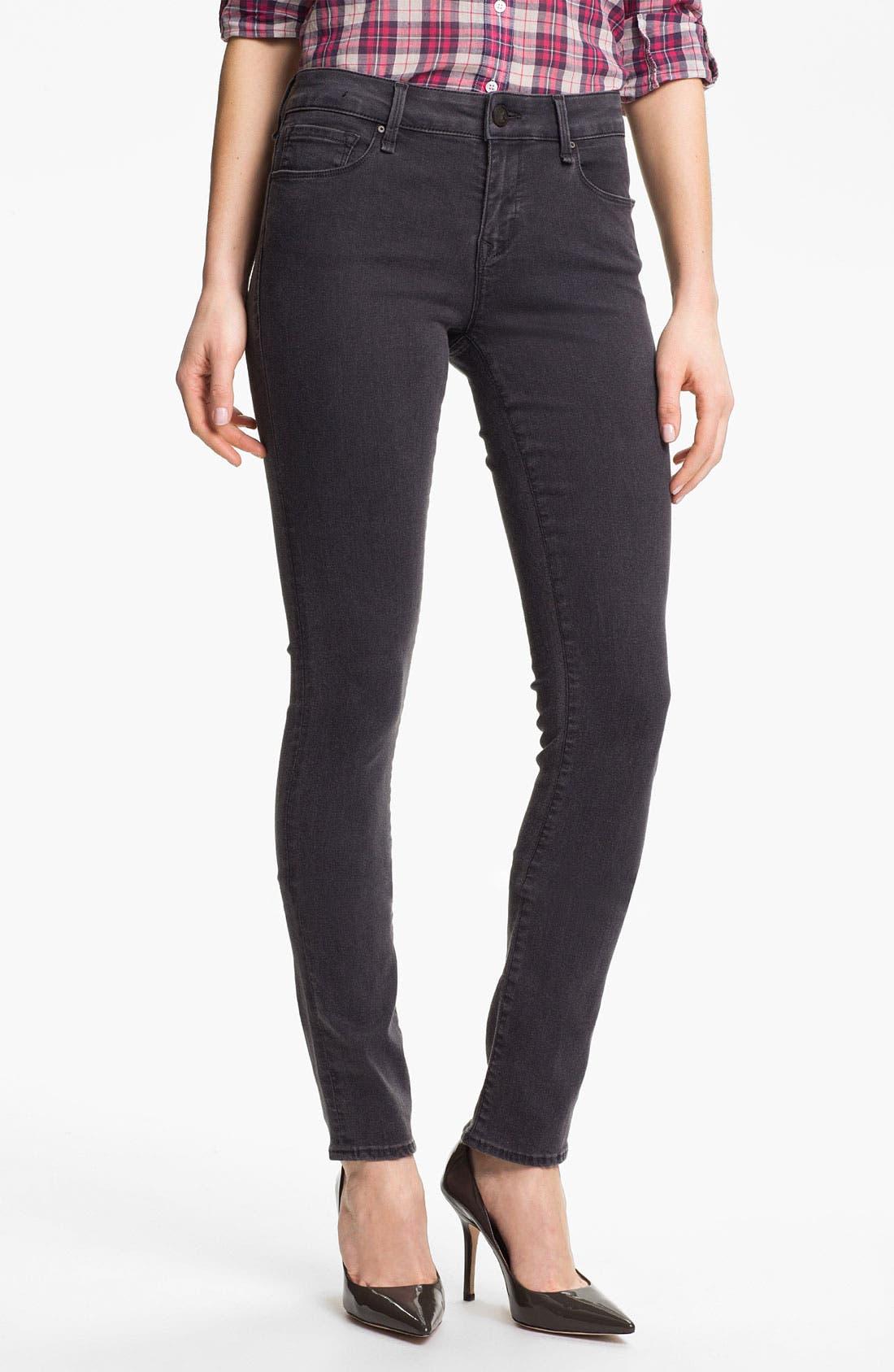 Main Image - Mavi Jeans 'Serena' Skinny Jeans (Grey Shanti)