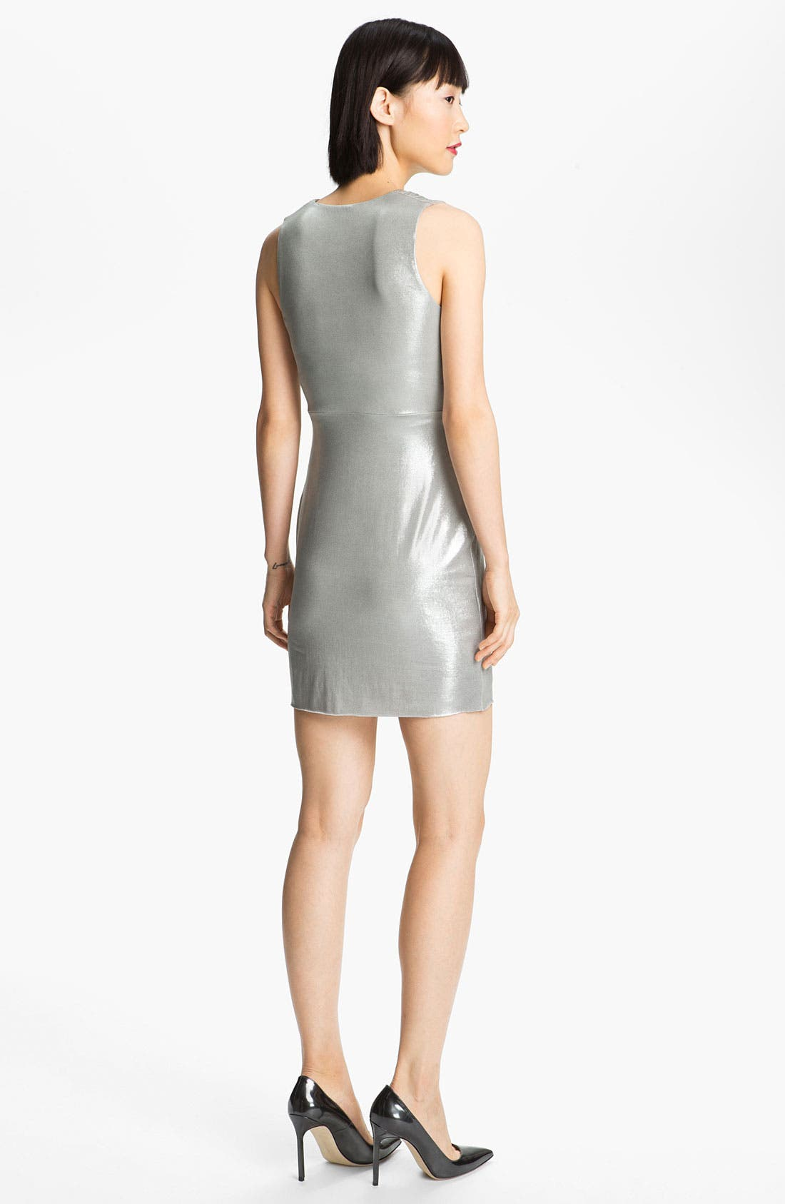 Alternate Image 2  - B44 Dressed by Bailey 44 'Silver Shark' Draped Dress