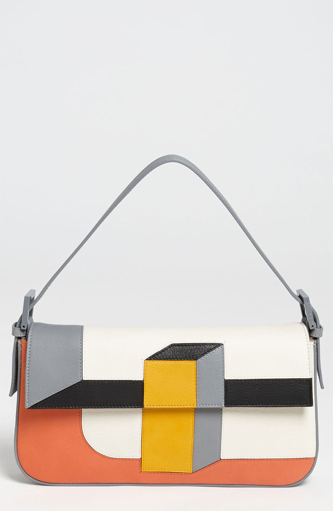 Alternate Image 1 Selected - Fendi '3D' Leather Baguette