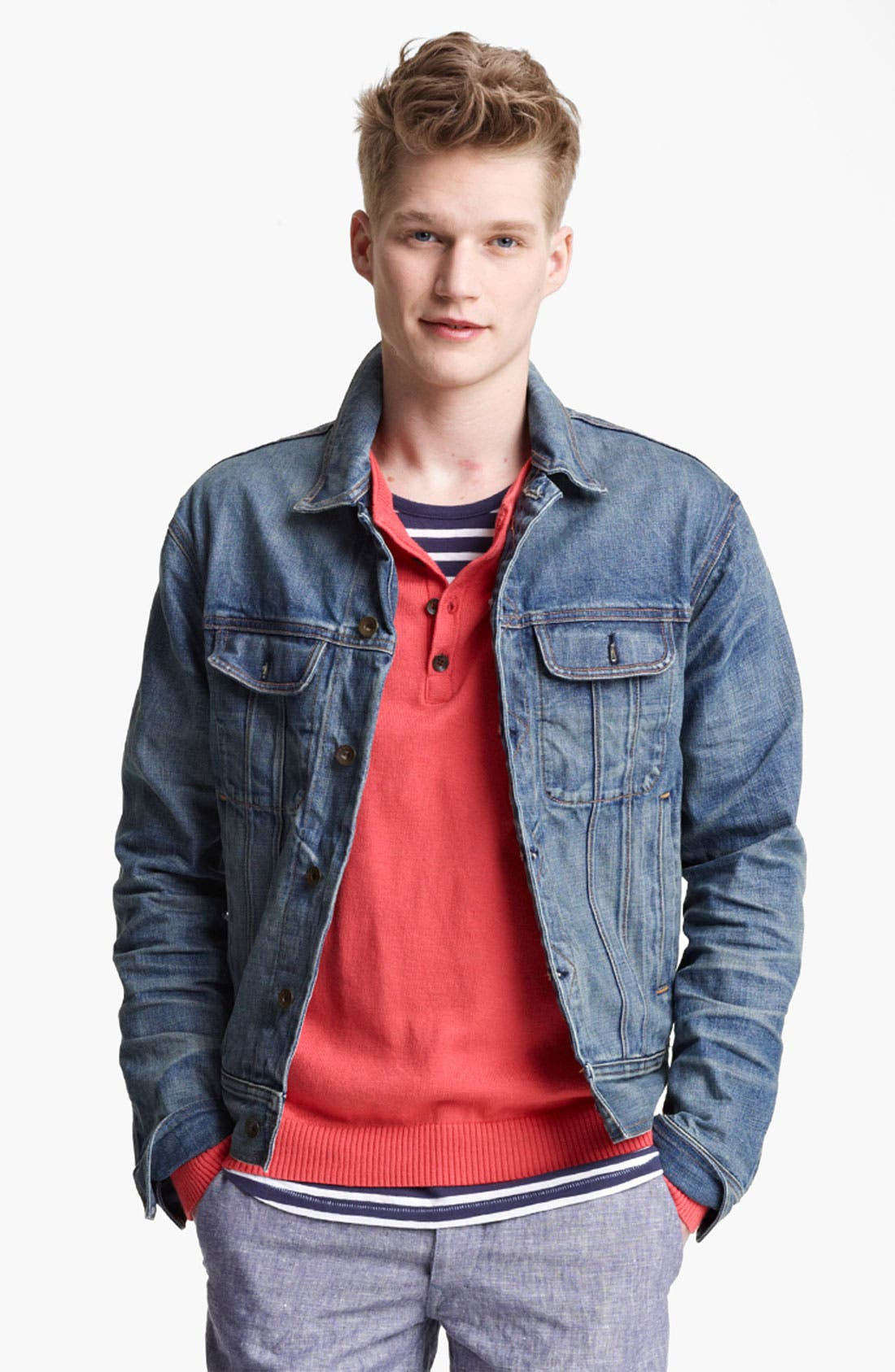 Alternate Image 1 Selected - rag & bone Denim Jacket