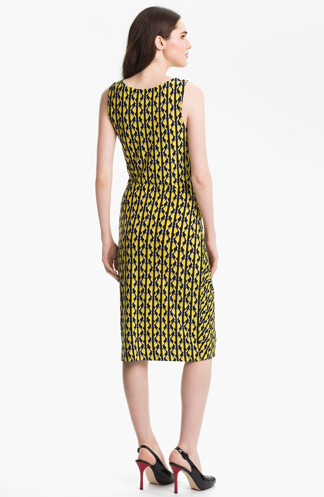 Alternate Image 2  - Anne Klein 'Geo Stripe' Dress
