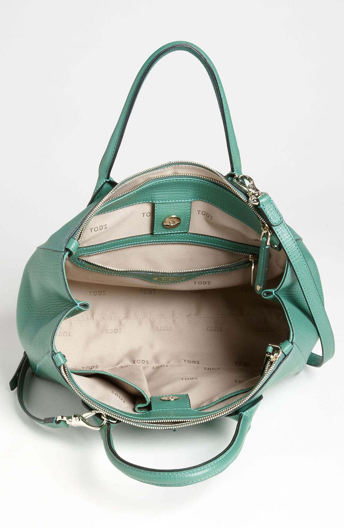 Alternate Image 3  - Tod's 'D-Styling' Two Zip Leather Shopper
