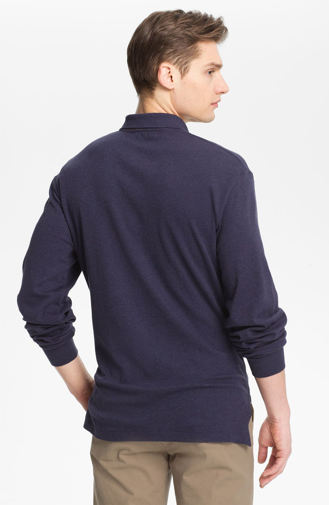 Alternate Image 2  - Polo Ralph Lauren Classic Fit Long Sleeve Polo