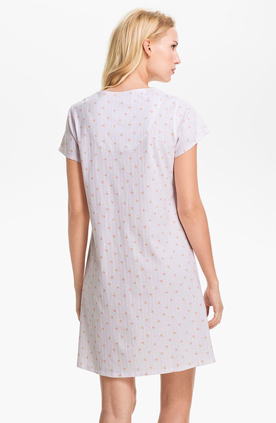 Alternate Image 2  - Eileen West 'Pastoral Beauty' Sleep Shirt