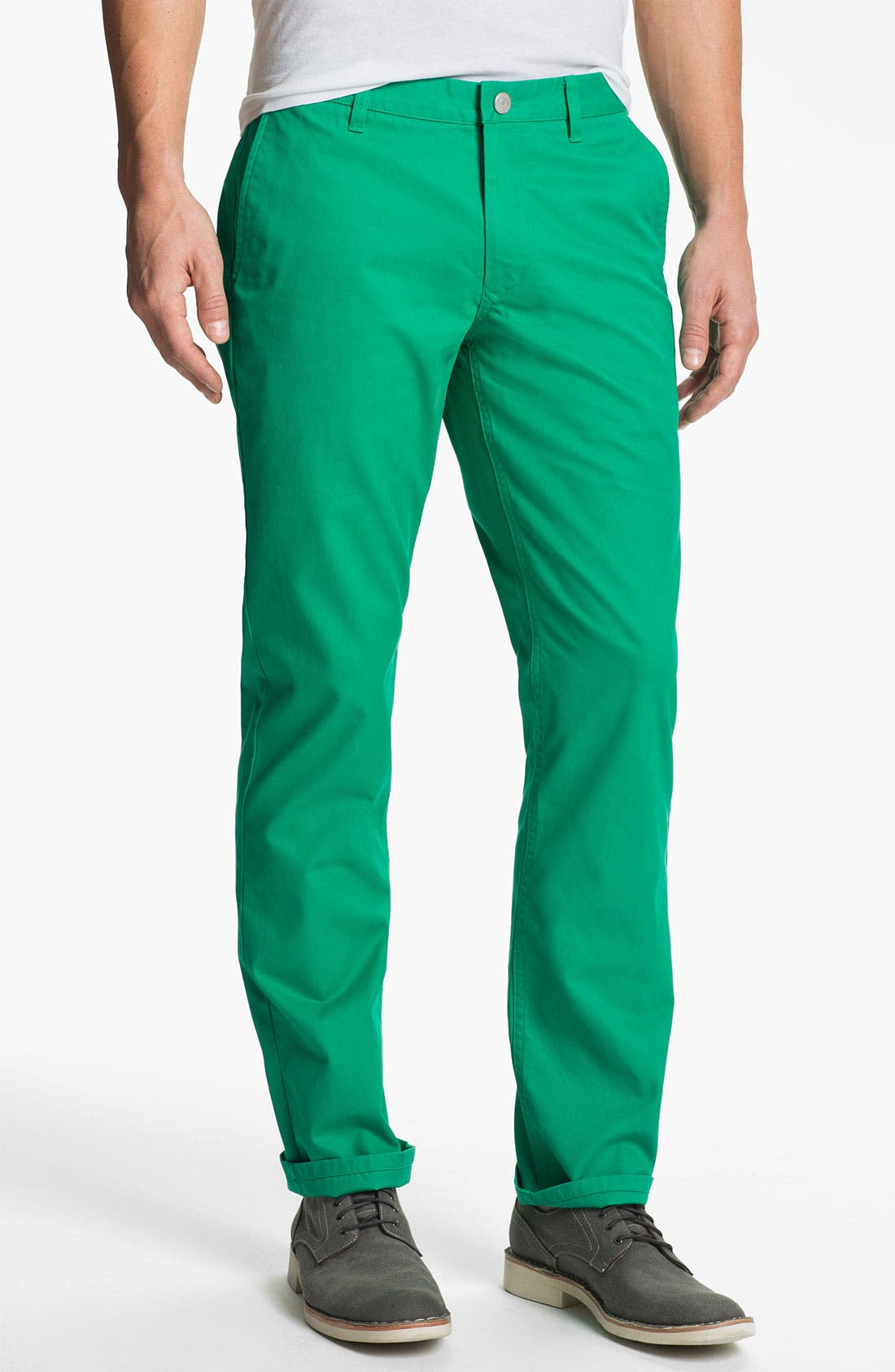 Alternate Image 1 Selected - Bonobos Straight Fit Washed Chinos