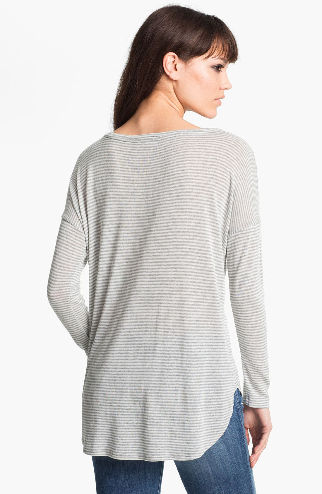 Alternate Image 2  - Soft Joie Drop Shoulder Stripe Top
