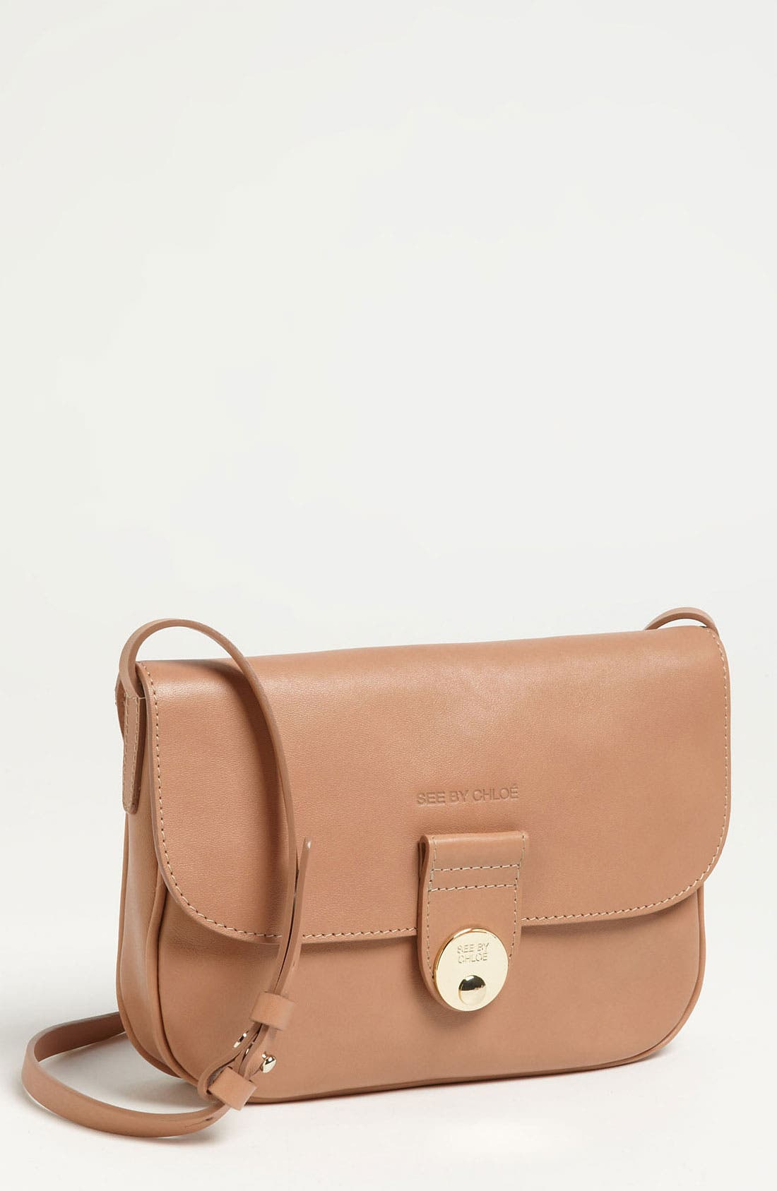 Alternate Image 1 Selected - See by Chloé 'Maani' Leather Crossbody Bag