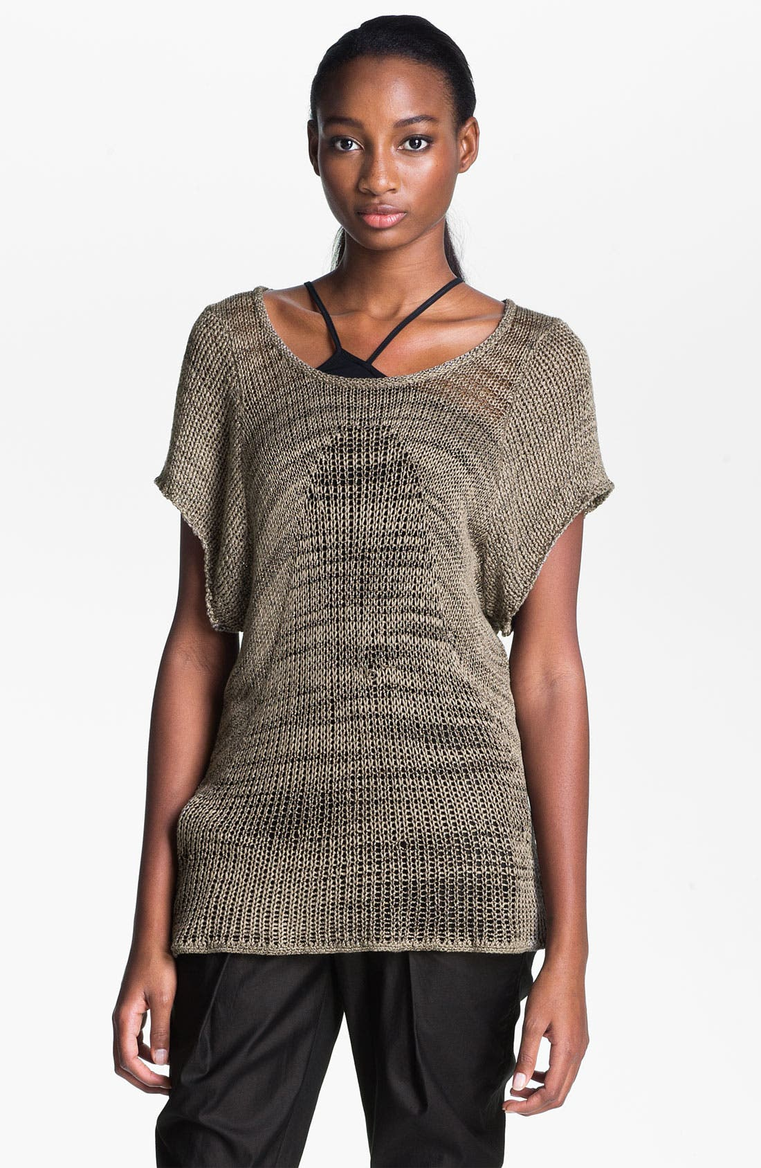 Alternate Image 1 Selected - Helmut Lang Marled Pullover