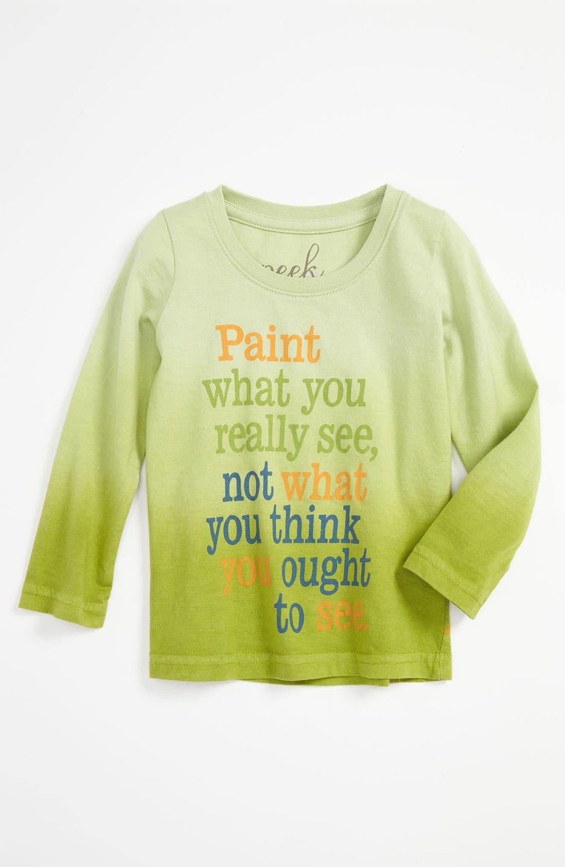 Alternate Image 1 Selected - Peek 'Monet' Tee (Baby)
