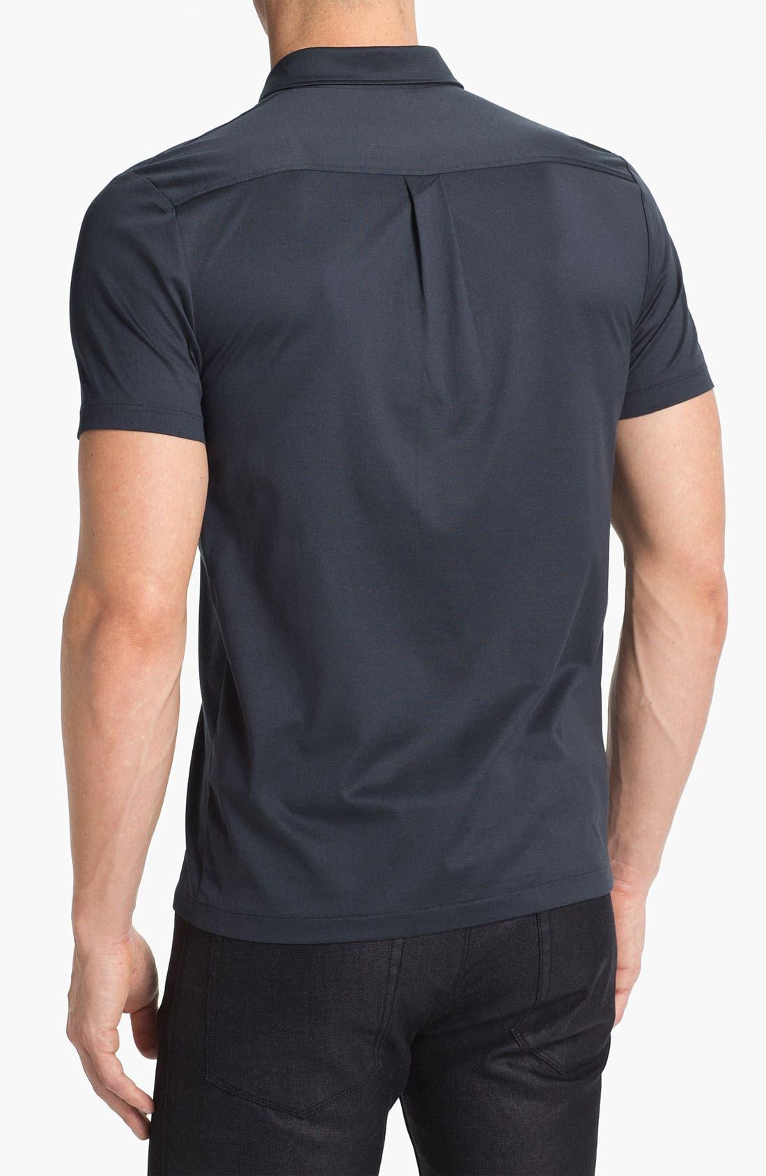 Alternate Image 2  - HUGO 'Danalog' Knit Sport Shirt