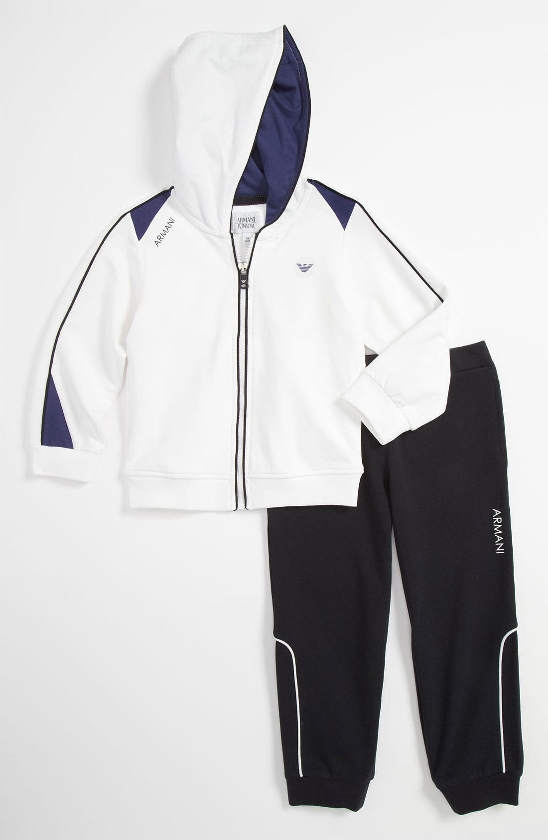 Alternate Image 1 Selected - Armani Junior Jacket & Pants (Toddler & Little Boys)