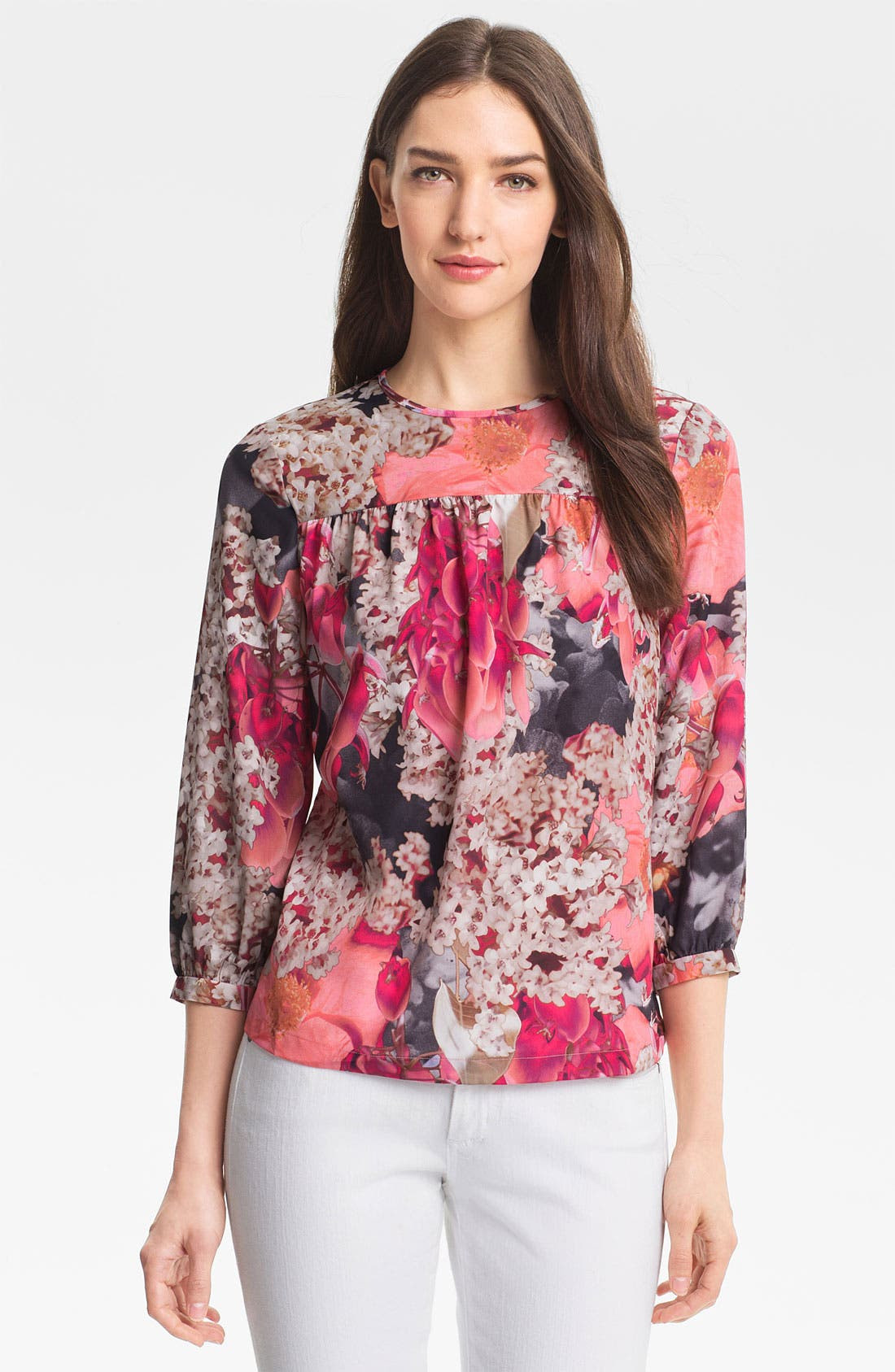 Alternate Image 1 Selected - Ted Baker London 'Digital Bloom' Top