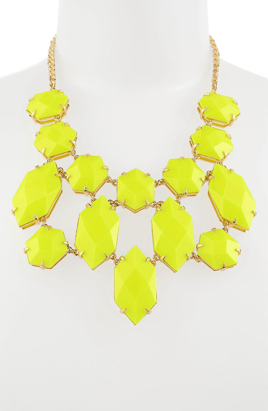 Alternate Image 2  - Vince Camuto 'Bright Gems' Faceted Resin Bib Necklace