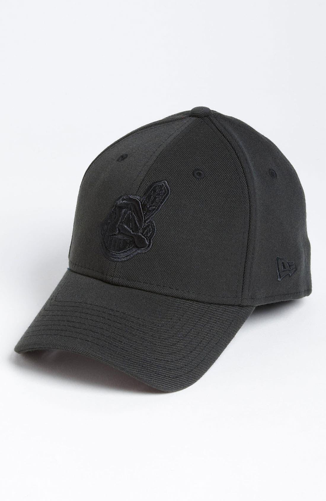 Main Image - New Era Cap 'Cleveland Indians - Tonal Classic' Fitted Baseball Cap
