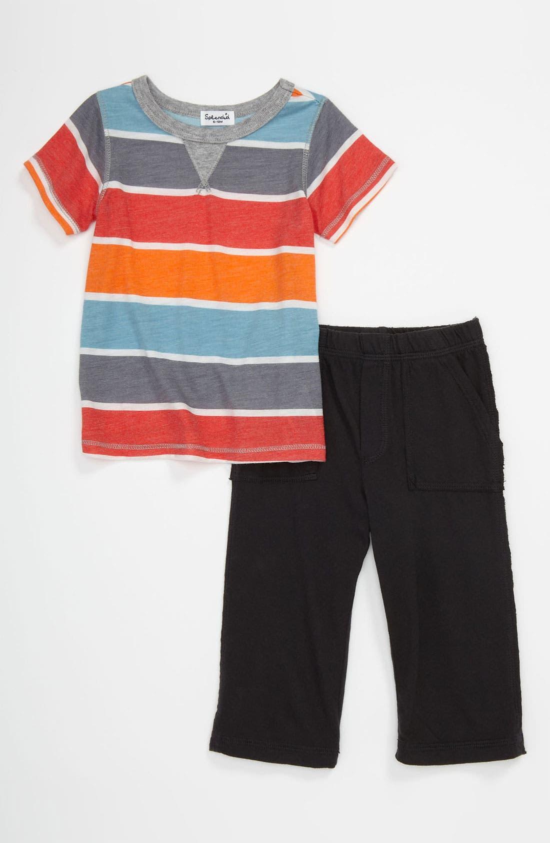 Main Image - Splendid T-Shirt & Pants (Infant)