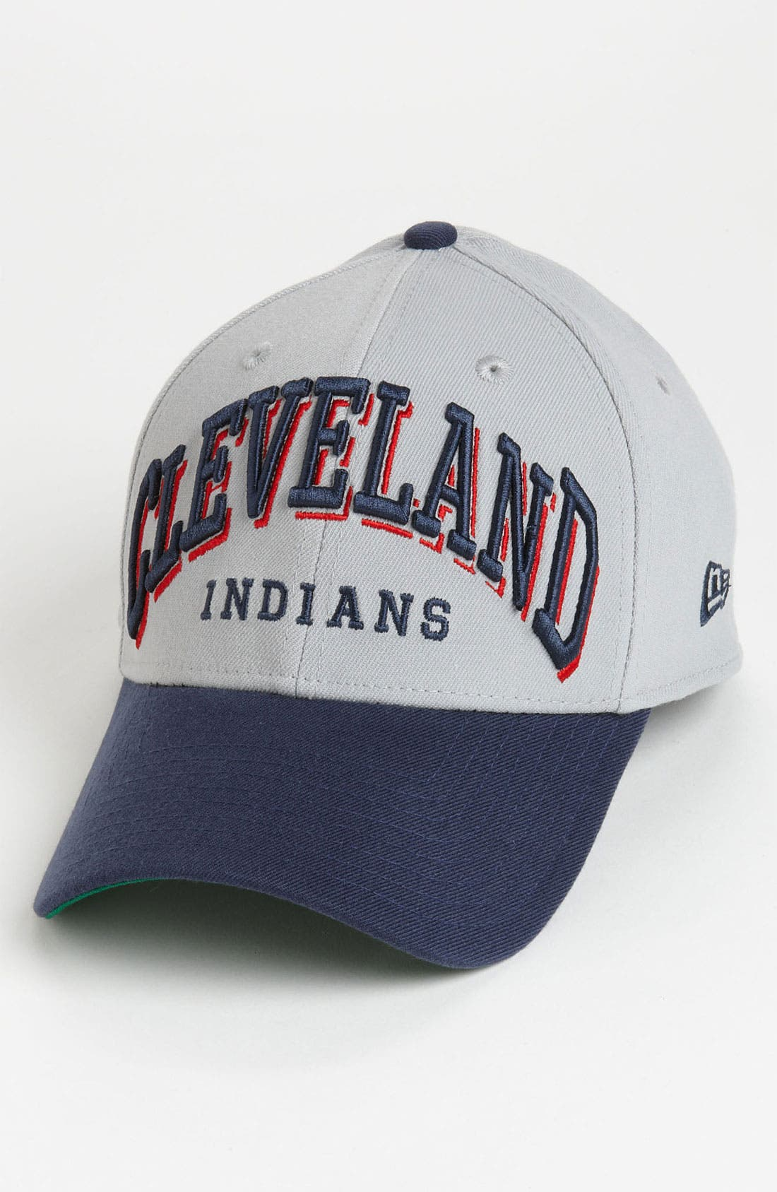 Alternate Image 1 Selected - New Era Cap 'Cleveland Indians - Arch Mark' Fitted Baseball Cap