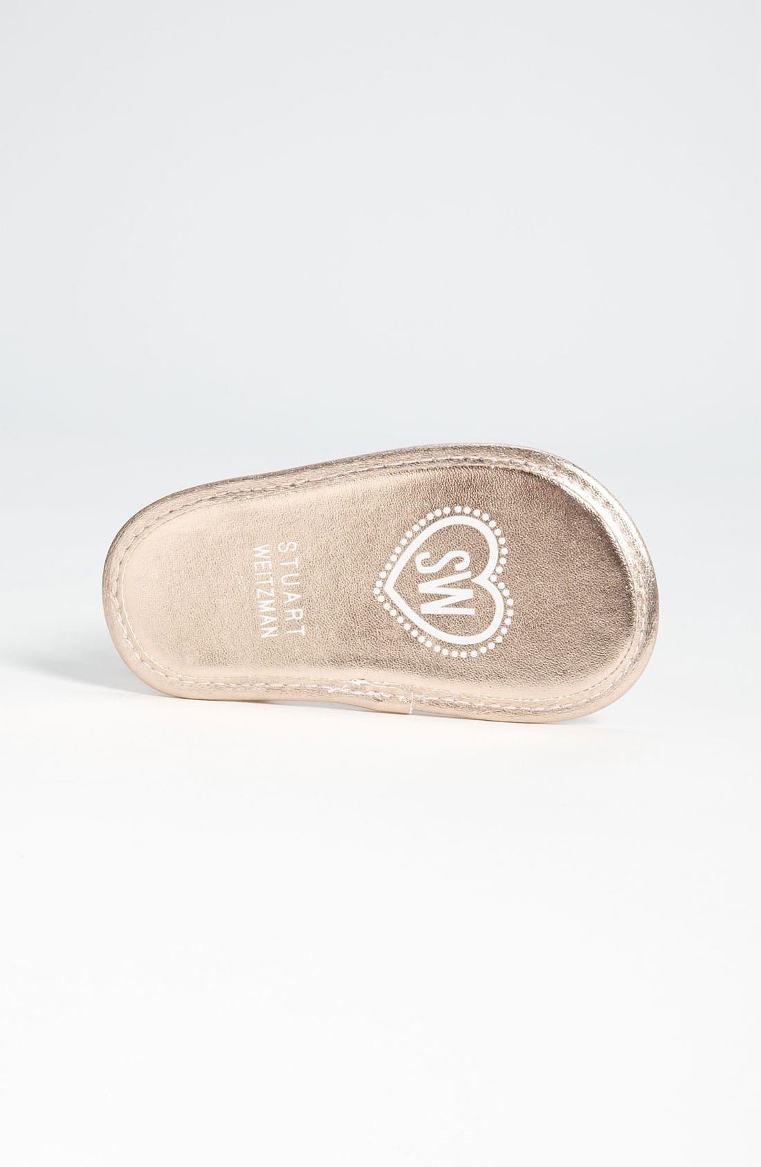 Alternate Image 4  - Stuart Weitzman 'Baby Silk' Sandal (Baby)