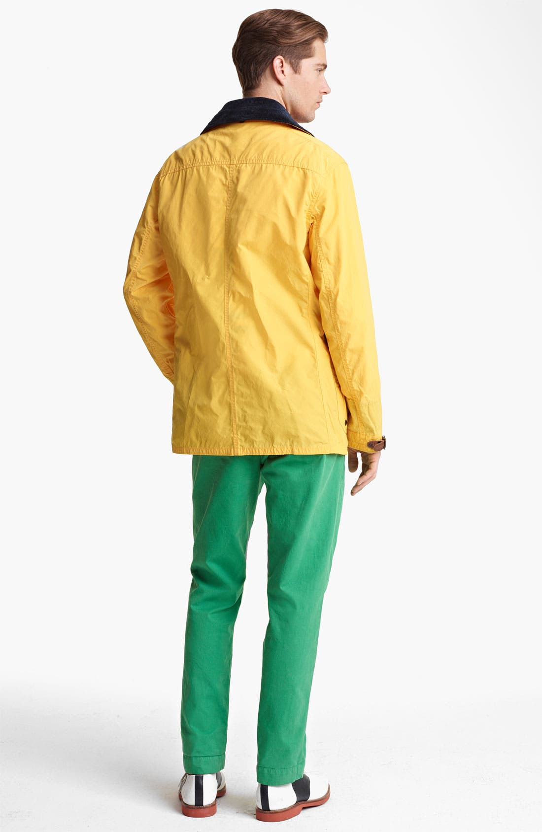 Alternate Image 5  - Polo Ralph Lauren 'Flying Pont' Fireman's Slicker