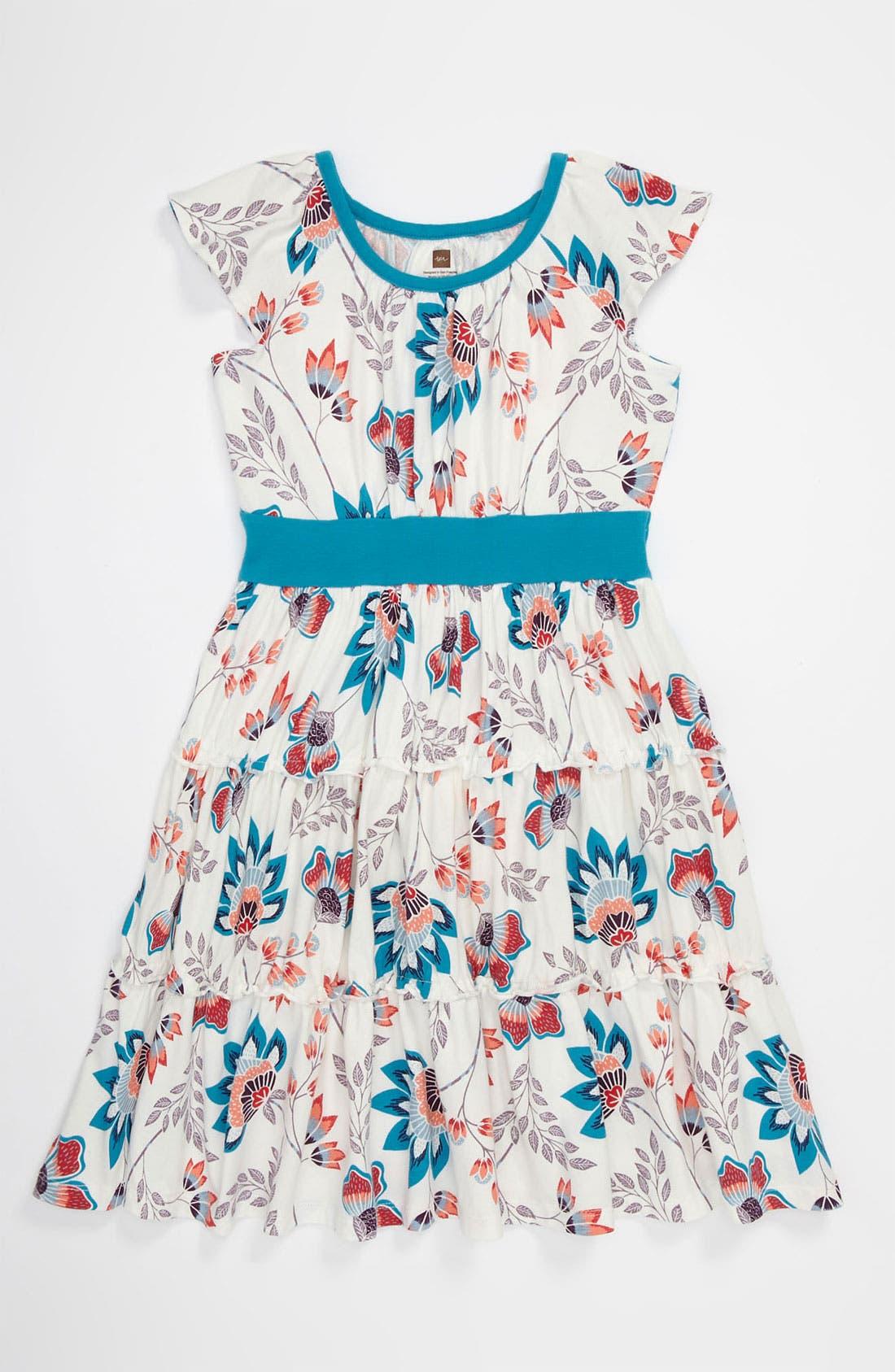 Alternate Image 1 Selected - Tea Collection 'Ardmore' Dress (Toddler, Little Girls & Big Girls)