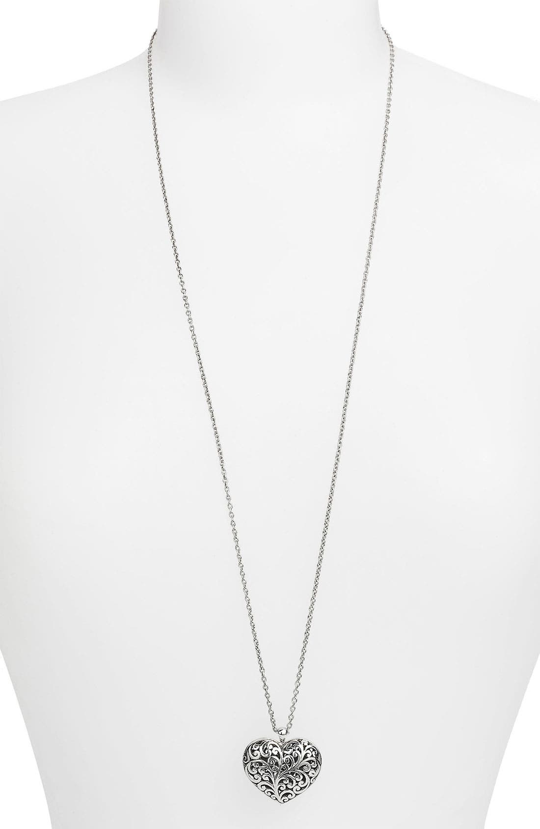 Alternate Image 2  - Lois Hill Long Pendant Necklace