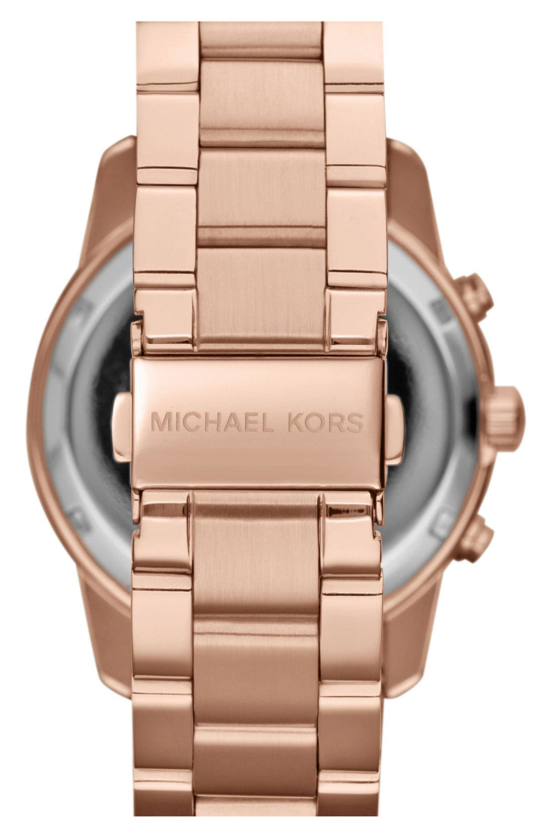 Alternate Image 3  - Michael Kors 'Mercer' Chronograph Bracelet Watch, 41mm