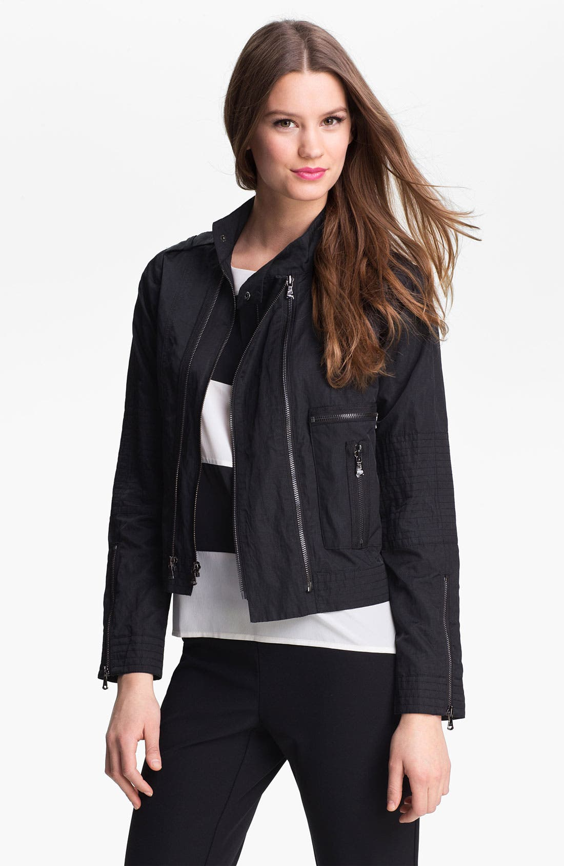 Main Image - Kenneth Cole New York 'Kerita' Metallic Jacket