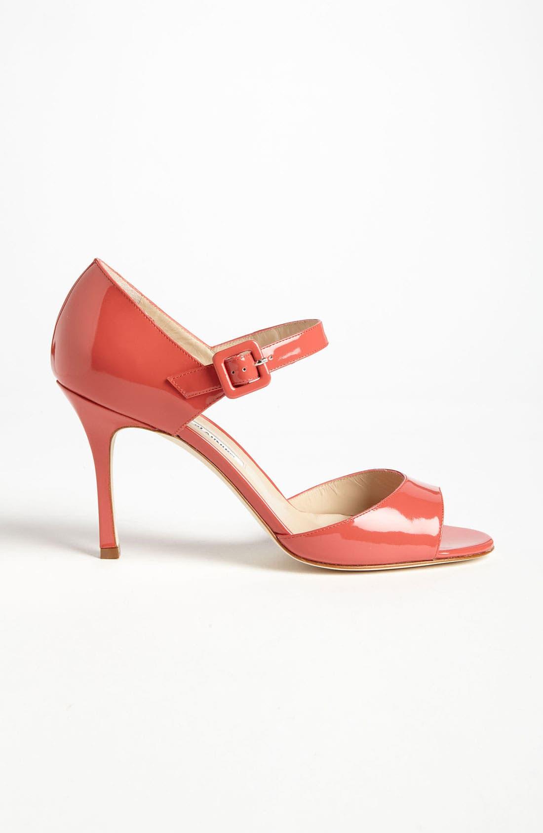 Alternate Image 4  - Manolo Blahnik 'Caldo' Sandal