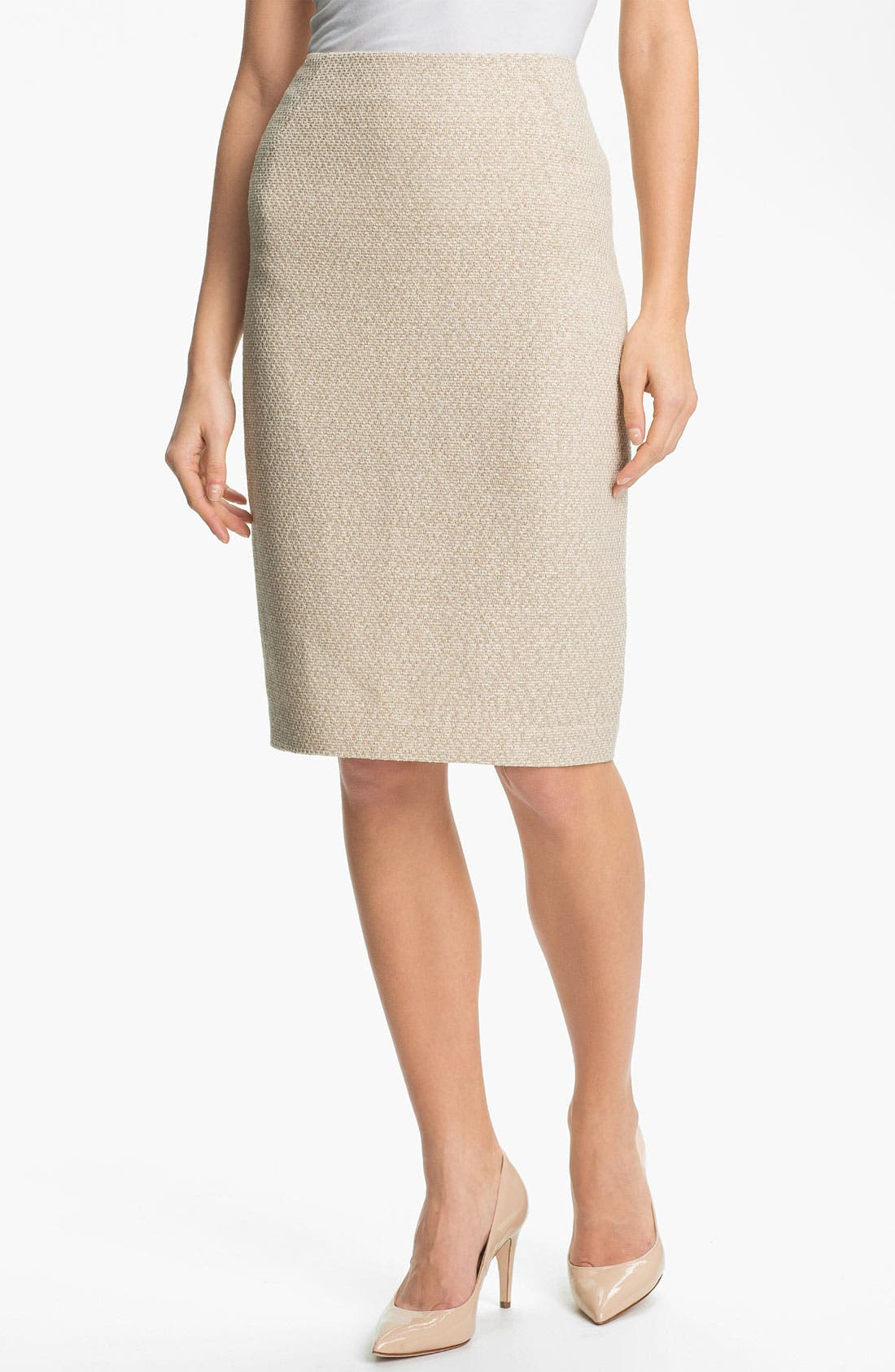 Alternate Image 1 Selected - Lafayette 148 New York 'Arden - Sandalwood' Skirt